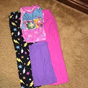 Girls size 7/8 Pajama Bundle !!!!